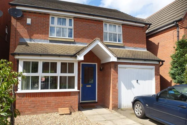 Thumbnail Detached house to rent in Peak Hill Close, Worksop