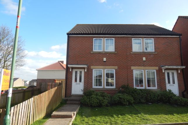Thumbnail Semi-detached house to rent in The Ridings, Catchgate, Stanley