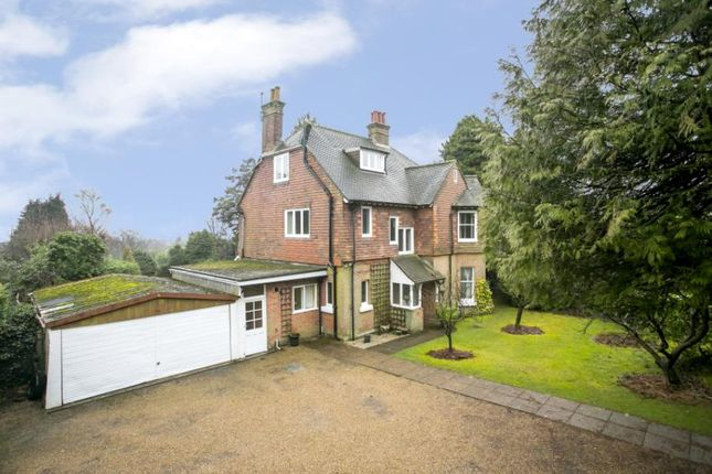 Thumbnail Detached house for sale in Queens Road, Crowborough, East Sussex