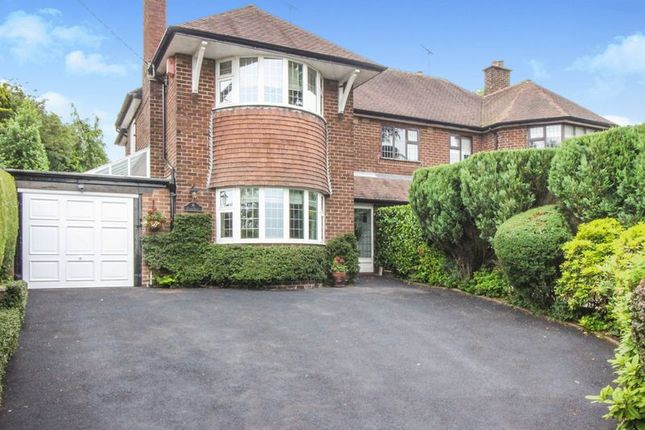 Thumbnail Semi-detached house for sale in Cheddleton Road, Birchall, Leek, Staffordshire
