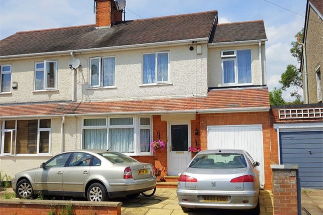 Thumbnail Semi-detached house for sale in Beverley Crescent, The Headlands, Northampton