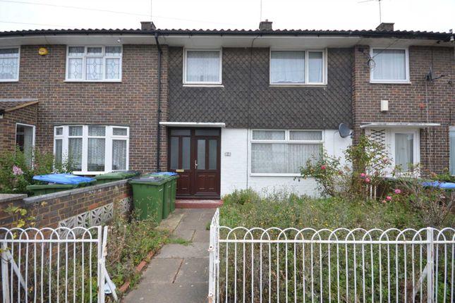 Thumbnail Terraced house to rent in Felixstowe Road, London