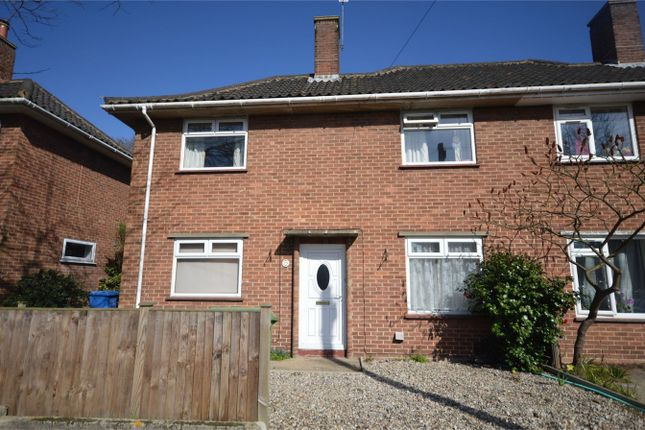 Thumbnail Semi-detached house for sale in Buckingham Road, Norwich