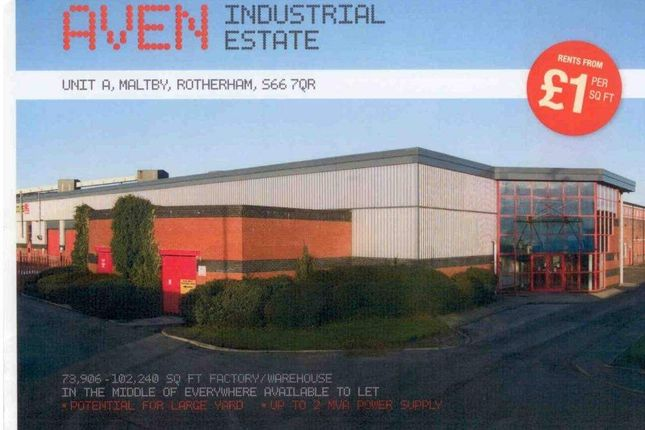 Thumbnail Light industrial to let in Unit A - Aven Industrial Estate, Tickhill Road, Maltby, Rotherham