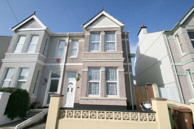 Thumbnail Semi-detached house for sale in Fairfield Avenue, Plymouth