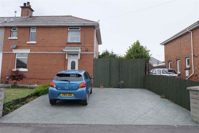 Thumbnail Semi-detached house for sale in Gadlys Road, Barry, Vale Of Glamorgan