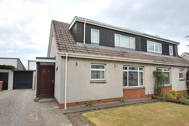 Thumbnail Semi-detached house for sale in Northbank Drive, Bo'ness