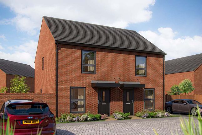 """Thumbnail Terraced house for sale in """"The Hawthorn"""" at Wavendon, Milton Keynes"""