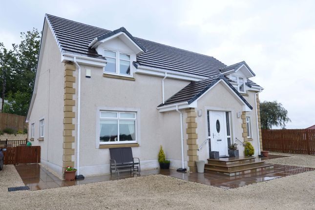 Front Aspects of Crookedshields Road, Nerston Village, East Kilbride G74