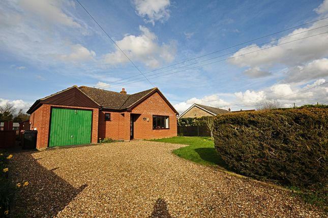 Thumbnail Detached bungalow for sale in Heywood Road, Shelfanger, Diss