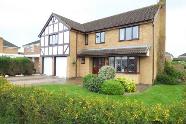 Thumbnail Detached house for sale in Huntsmans Gate, South Bretton, Peterborough