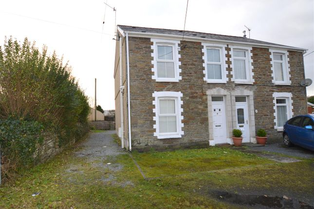 Thumbnail Semi-detached house for sale in Bank Road, Llangennech, Llanelli