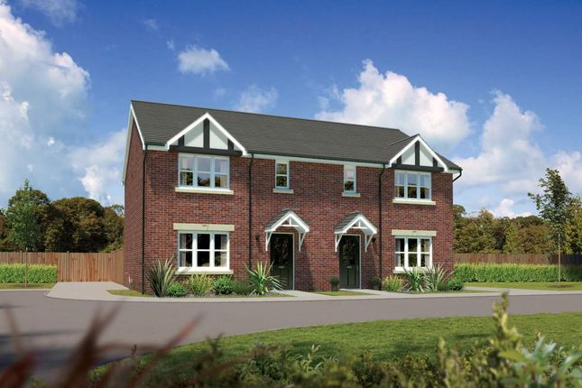 """Thumbnail Semi-detached house for sale in """"Caplewood"""" at Bye Pass Road, Davenham, Northwich"""