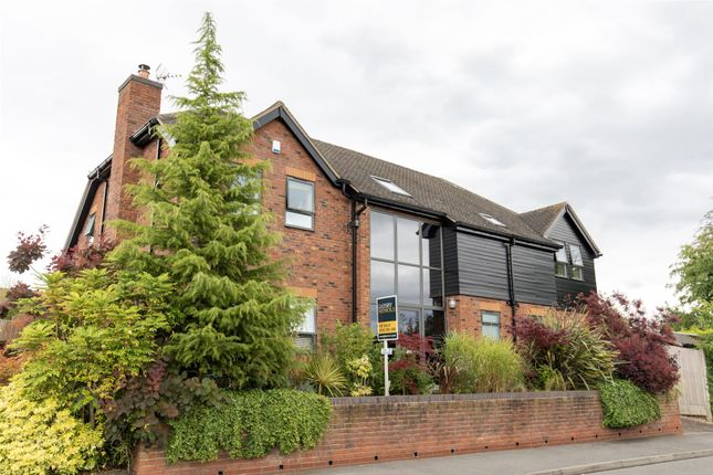 Thumbnail Detached house for sale in Quarndon Heights, Allestree, Derby