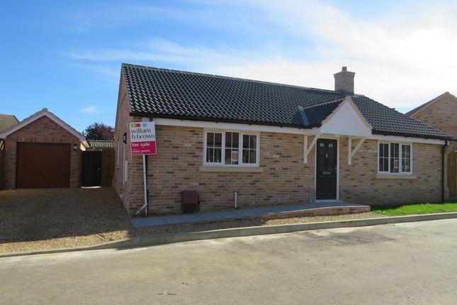 Thumbnail Detached bungalow for sale in Saffron Close, Watton, Thetford