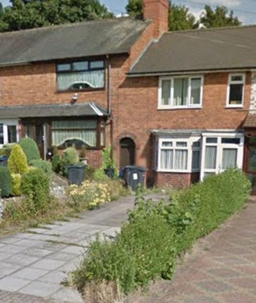 Thumbnail Terraced house to rent in Heather Road, Small Heath, Birmingham