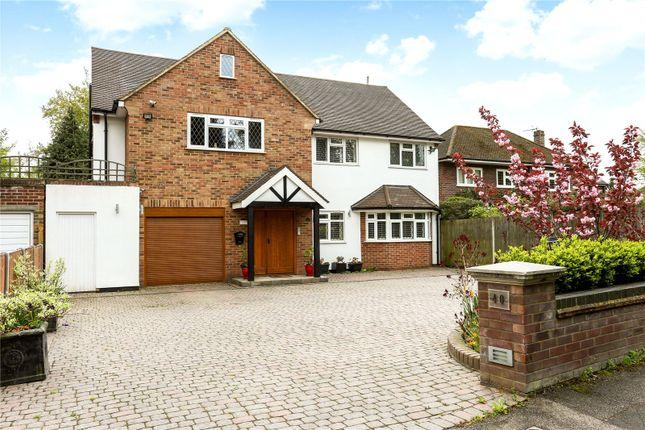 Thumbnail Detached house for sale in Shenley Hill, Radlett, Hertfordshire