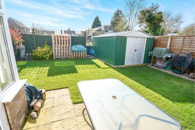 Garden of Burghley Park Close, North Hykeham, Lincoln, Lincolnshire LN6