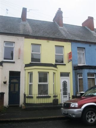 Thumbnail Terraced house to rent in Jameson Street, Belfast