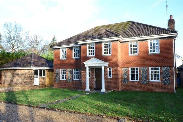 Thumbnail Detached house for sale in Attenborough Close, Fleet, Hampshire