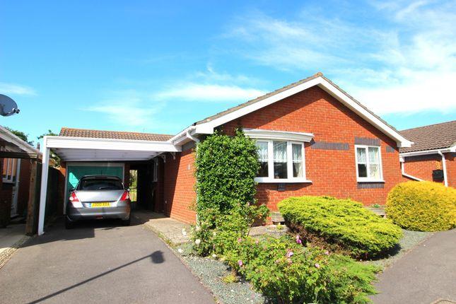 Thumbnail Detached bungalow for sale in Bilberry Close, Locks Heath, Southampton