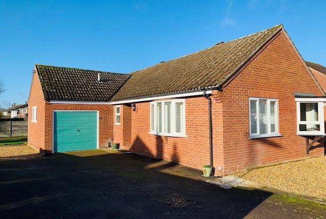 Thumbnail Detached bungalow to rent in Choseley Court, Wymondham, Norfolk