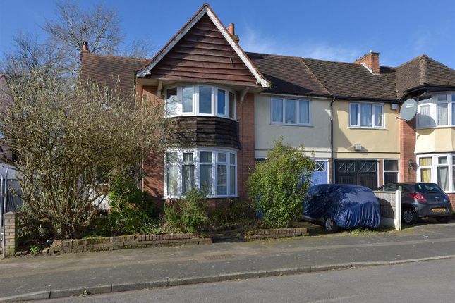 Thumbnail Semi-detached house for sale in Selwyn Road, Edgbaston, Birmingham