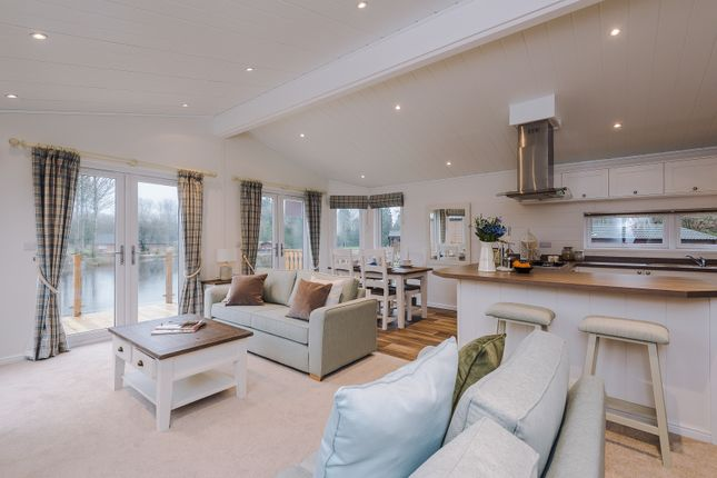 Thumbnail Lodge for sale in Cleveley Bank Lane, Forton