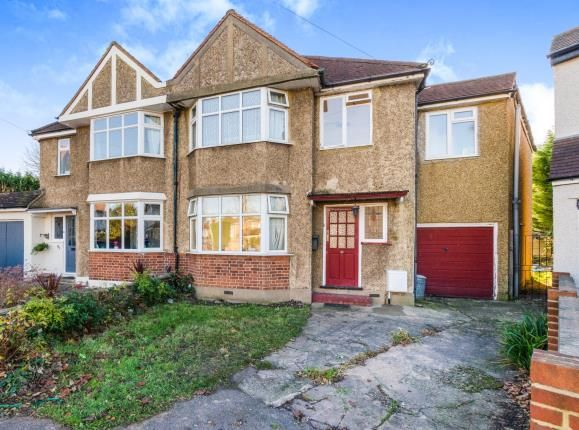 Thumbnail Semi-detached house for sale in Somerset Avenue, Chessington