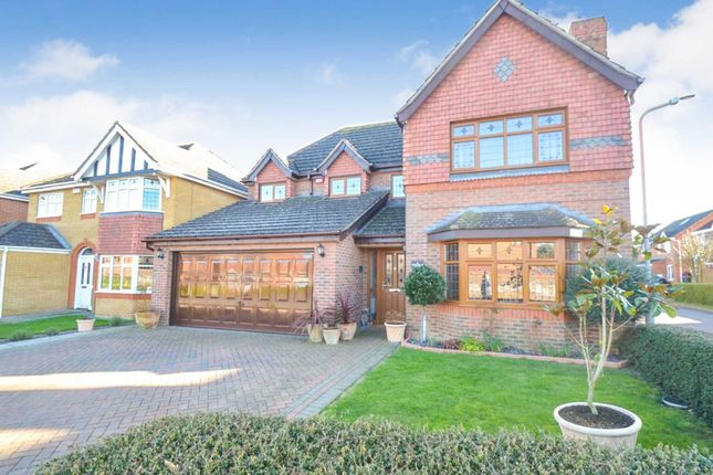 Thumbnail Detached house for sale in Nottingham Grove, Bletchley, Milton Keynes