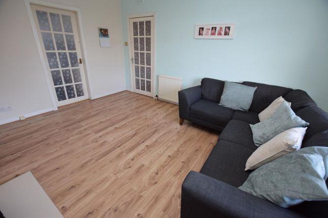 Living Room of King Street, Hamilton ML3