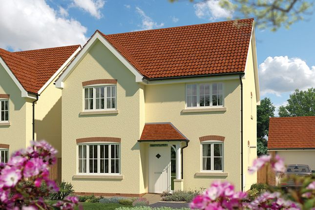 "Thumbnail Detached house for sale in ""The Aspen"" at Priory Fields, Wookey Hole Road, Wells, Somerset, Wells"