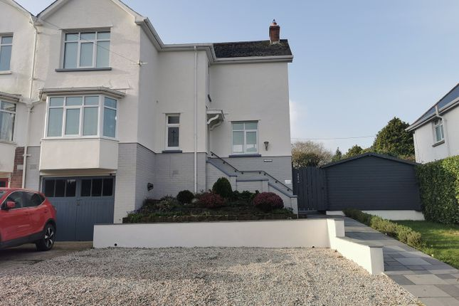 Thumbnail Semi-detached house for sale in Springfield Avenue, Barnstaple