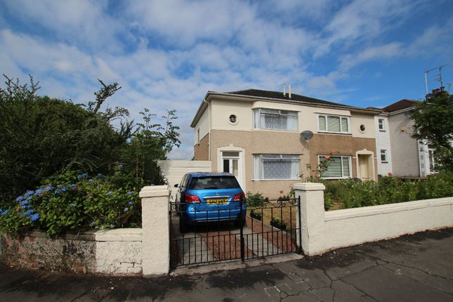 Thumbnail Semi-detached house for sale in Keal Place, Blairdardie, Glasgow