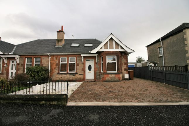 Thumbnail Semi-detached bungalow for sale in Saughtonhall Drive, Edinburgh