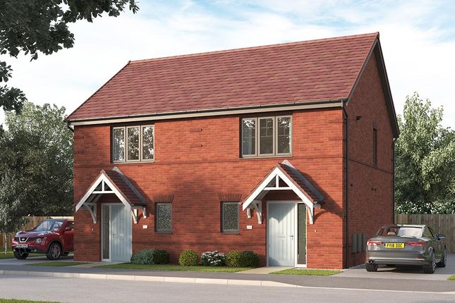 """Thumbnail End terrace house for sale in """"The Beckford End"""" at William Nadin Way, Swadlincote"""