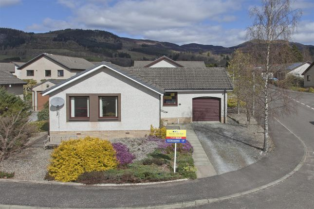 Thumbnail Detached bungalow for sale in Knockard Place, Pitlochry