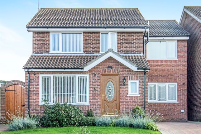 Thumbnail Detached house for sale in Bucknam Close, Kessingland, Lowestoft