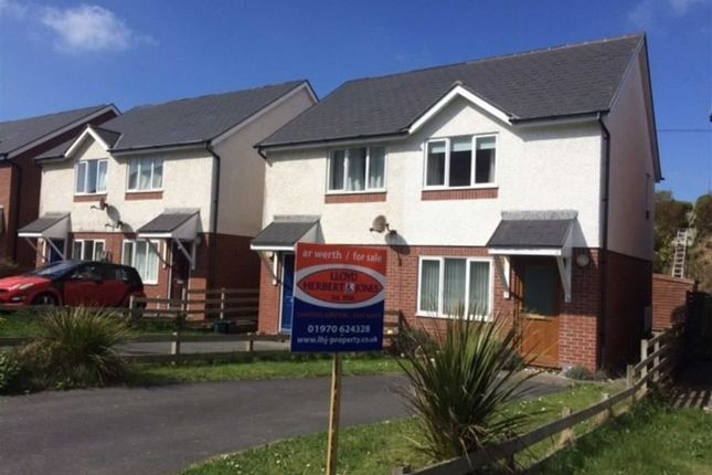 Thumbnail Semi-detached house for sale in Pen Y Cei, Aberystwyth, Ceredigion