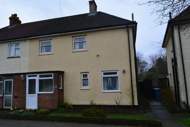 Thumbnail Semi-detached house for sale in Renfrew Road, Ipswich