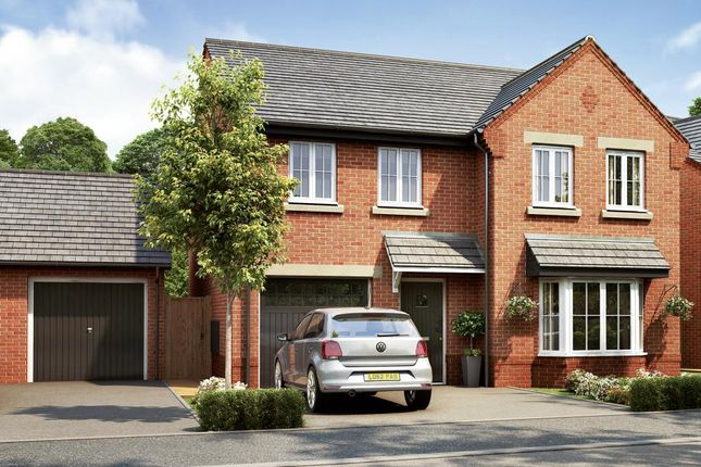 """Thumbnail Detached house for sale in """"Plot 196 - The Haddenham"""" at Stoneley Road, Crewe"""