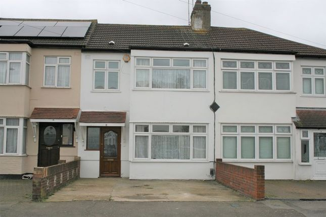 Thumbnail Terraced house to rent in Eaton Drive, Collier Row, Romford