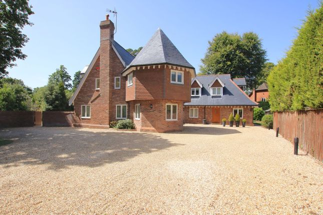 Thumbnail Detached house for sale in Brighton Road, Sway, Lymington, Hampshire