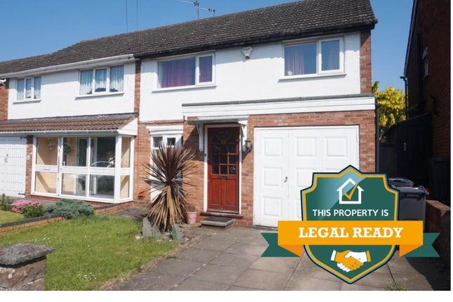 Thumbnail Semi-detached house for sale in Birch Croft, Erdington, Birmingham