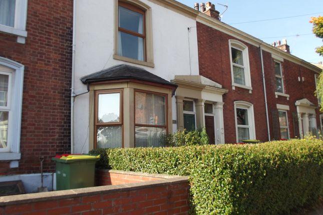 Thumbnail Terraced house to rent in Grafton Street Grafton Street, Preston
