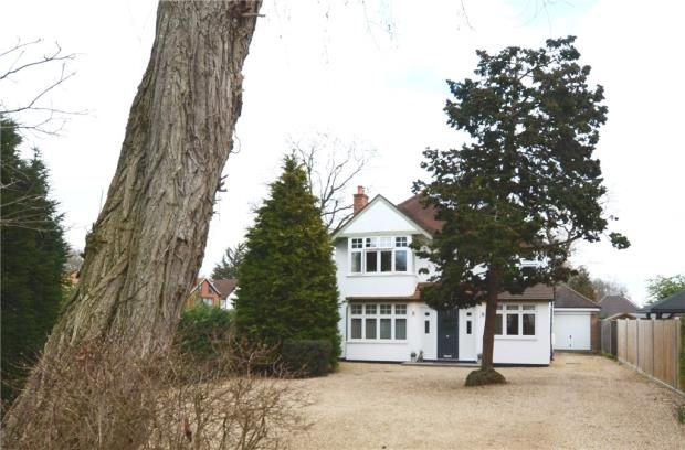Thumbnail Detached house for sale in Canterbury Road, Farnborough, Hampshire