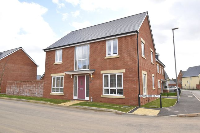 Thumbnail Detached house for sale in Greenfields Drive, Bishops Cleeve, Cheltenham, Gloucestershire