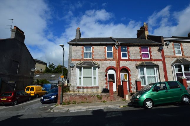 Thumbnail End terrace house for sale in Alexandra Road, Torquay