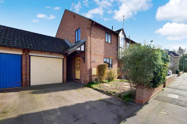 Thumbnail End terrace house for sale in Friday Wood Green, Colchester