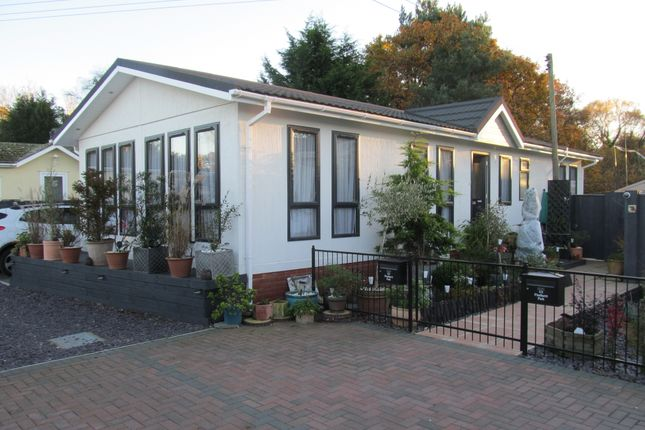 Thumbnail Mobile/park home for sale in Pinehurst Park (Ref 5472), West Moors, Ferndown, Dorset, 0Bs